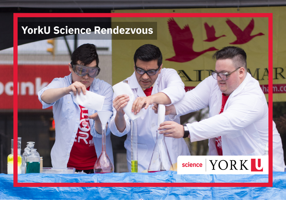 Science Rendezvous Stage Demonstration